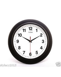 Simple Descent Wall Clock For Home & Office Dé cor,  black