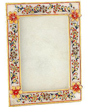 Marvel in Marble -Photo Frame-034(Multicolor)