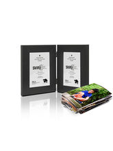 SViRU Hinged/Folding Photo Frame -BOLD, black