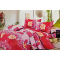Crust Bedsheet With 2 Pillow Covers LE-CR-005, multicolor