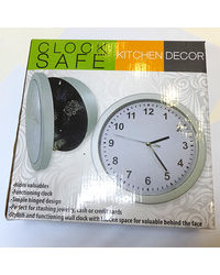 Cool Trends Clock Safe,  silver