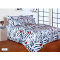 S-pigment (shine) Cotton Double Bedsheet with Pillow Covers LE-SP-001