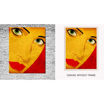 meSleep Canvas painting without frame -Lady, multicolor