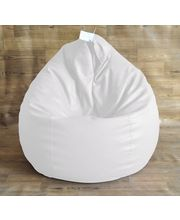 Classic Style Homez - Filled With Beans XXL Bean Bag, White, Xxl