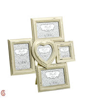 Aapno Rajasthan Five Windowpane-style Wooden Photo Frame