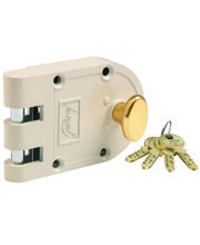 Godrej Ultra Vertibolt Beige Brass 1CK Locks, Multicolor