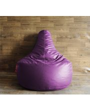 Style Homez - Filled With Beans XXL Gamer Chair Bean Bag, Purple, Xxl