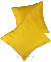 Me Sleep Coushion Covers (Yellow)
