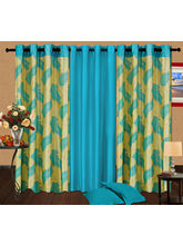 Cortina Candy Set Of 3- 9Ft Curtain, Purple