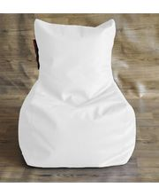 Style Homez Chair Bean Bag - Filled With Beans, White, L