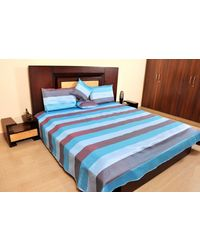 Banana Prints Set of Five Dupian Tagai Bed Cover - BC_ 3004, multicolor