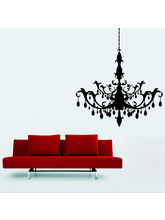 Creative Width Chandelier Wall Decal, Multicolor, ...