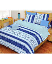 Godrej Interio Expressions Double Bedsheet Abstract, Multicolor