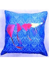 Welhouse India Kites In The Row 3D Digital Cushion...