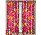 HandloomTrendz Beautiful Angry Bird Print Kids Window Curtain(CnABpink4X5), pink