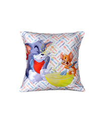 Warner Brother By meSleep Tom & Jerry Cushion Cover, multicolor