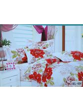 Blue Bell Double Bedsheet With Two Pillow Covers BEL-004, Multicolor