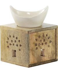 Brahmz Aroma Oil Burner Woody, woody and ivory