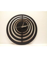 Contemporary Wall Clock, black