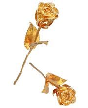 Special Valentine Gold Plated Rose