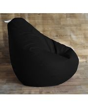 Style Homez XXL Classic Bean Bag - Filled With Beans, Black, Xxl