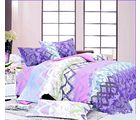 Storyathome Designer Choice Double Bed Sheet, multicolor