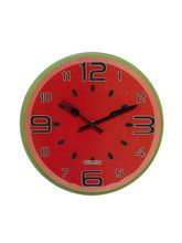 Water Melon Style Cute Analog Wall Clock, Red