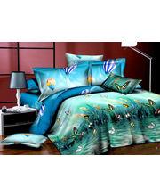 Story King Size Lovely Butter Fly Double Bed sheet IM1037, multicolor