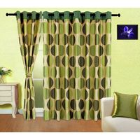 Cortina Punto Aqua 9Ft Curtain,  green