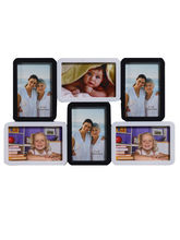 Black & White Beautiful Collage Photo Frame, Black...