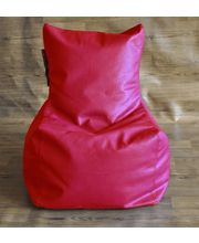 Style Homez Chair Fancy Bean Bag Cover, Red, L