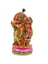Creativity Centre Lord Radha Krishna, Multicolor