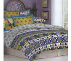 Bombay Dyeing Celebrating India King Size Bed Sheet Set - CI-6182, multicolor