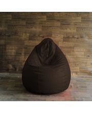 Fancy Style Homez Chair Bean Bag - Filled With Beans, Brown, Xl