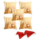 meSleep Set of 5 Christmas Digitally Printed Cushion Cover (16x16) -With 2 Pcs,  beige