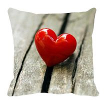meSleep Valentine Cushion Cover,  red