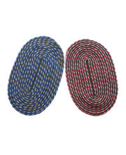 JBG Home Store Combo of 2 Beautiful Oval Doormats, multicolor