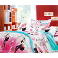 Surprise Double Bedsheet With Pillow Covers LE-CS-014 (Multicolor)