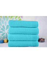 Story At Home Set Of 4 Pcs Pure Cotton Bath Towel,...