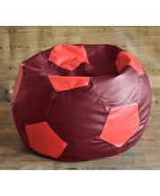 Fancy Style Homez - Filled With Beans XXL Football Bean Bag, Multicolor, Xxl