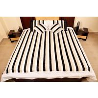 Banana Prints Set of Five Street Bed Cover - BC_ 3012, multicolor