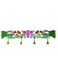 Inditradition Gate Toran (Vandharwal), multicolor
