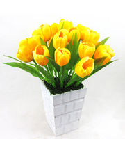 Flowers Boutique Silk Tulips (Multicolor)