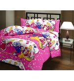Kids Cartoon Princess Blanket 1014, multicolor