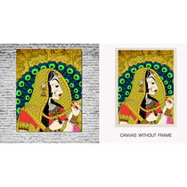 meSleep Canvas painting without frame -Queen, multicolor