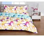Welhome Basic Yellow Double Bed sheet