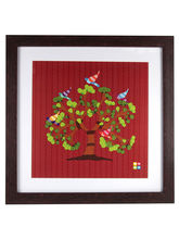 The Elephant Company Gond Art Tree Of Life Framed ...