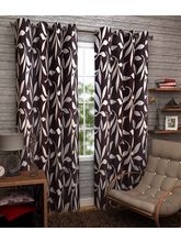 Elegance Abstract Polyester Door Curtain Set Of 3 ...
