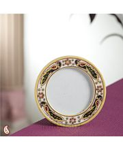 Marble Photo frame with Gold work (Multicolor)