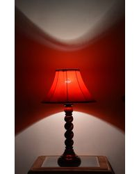 Yashasvi Table Lamp,  red